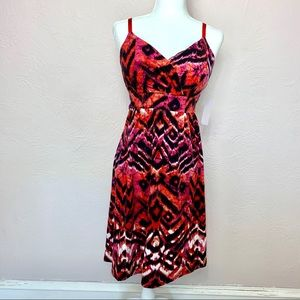 NWT Philosophy By Republic flip-flop dress szL